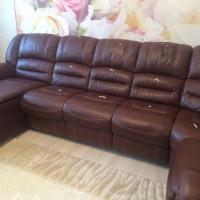Чистка кожаной мебели